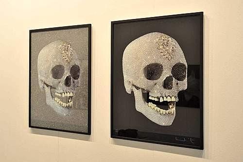 Serigrafie Artisti Contemporanei Damien Hirst Teschio