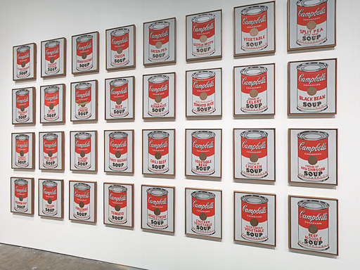 32 Campbell's Soup - Andy Warhol - Opere Famose