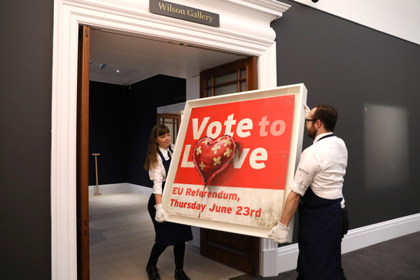 Vote to Love - Banksy - Asta Sotheby's